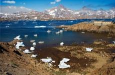 La baia degli iceberg spiaggiati 1