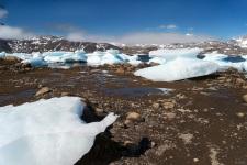 La baia degli iceberg spiaggiati 3
