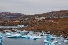La baia degli icebergs