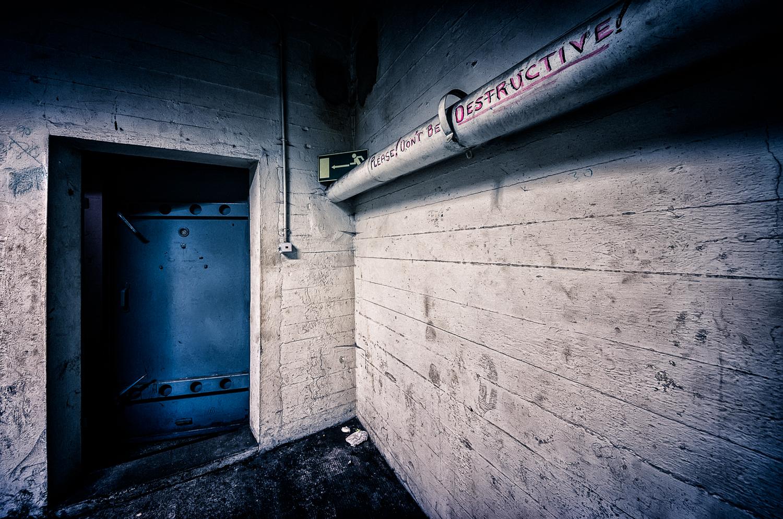 The shelter #3 - Don't be destructive