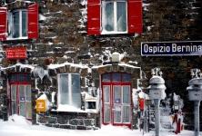La stazione di Ospizio Bernina