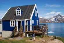 Casa artica con vista