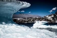 Shelf ice