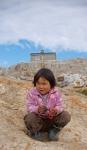 Inuit girl in Tiniteqilaq
