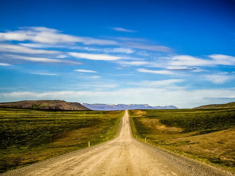 The long and straight road
