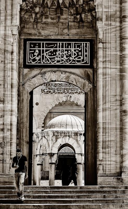 L' ingresso della Moschea Blu (Sultanahmet)