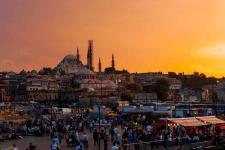 Sunset in Eminönü