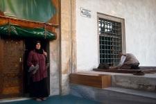 Piccola Hagya Sofya esterno - La preghiera del Ramadam