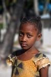 Una bambina di Jambiani ed il suo sguardo intenso