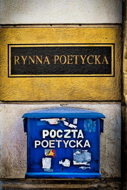 The poetic gutter and poetic mail