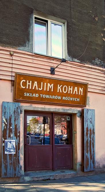 Un negozio ricostruito com' era prima della Guerra e dell' Olocausto, nel quartiere ebreo di Kazimierz
