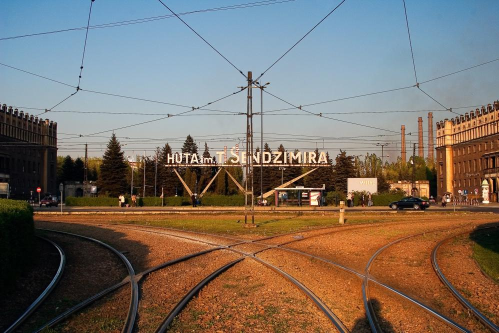 Nowa Huta - Kmbinat Tram Stop
