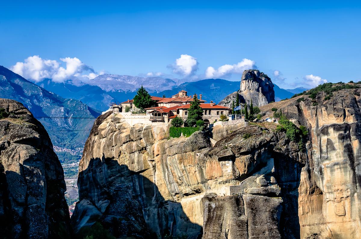 Holy Trinity Monastery one beautiful day