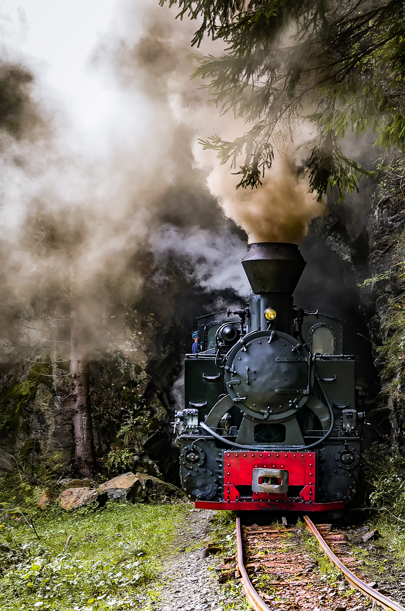 Mocanita, the little steam train – Photos On The Road