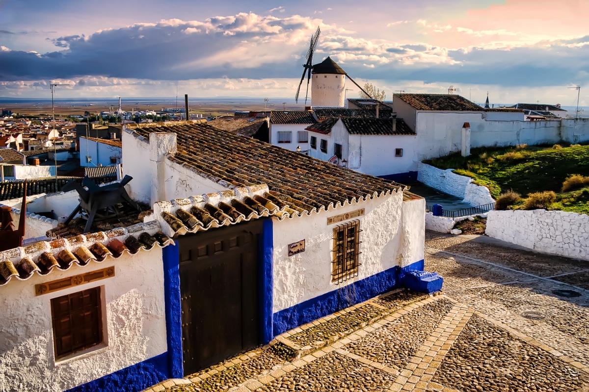The road of Don Quixote