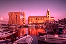 Harbour sunrise, Acciaroli, Italy