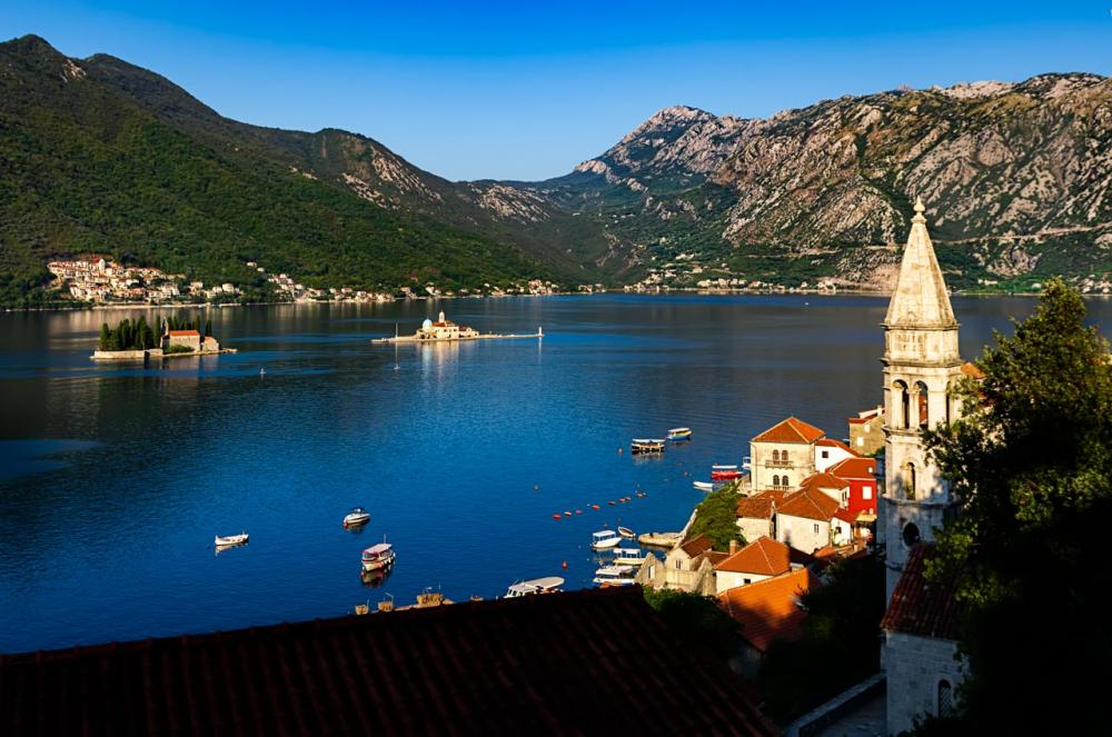 Perast and its islands