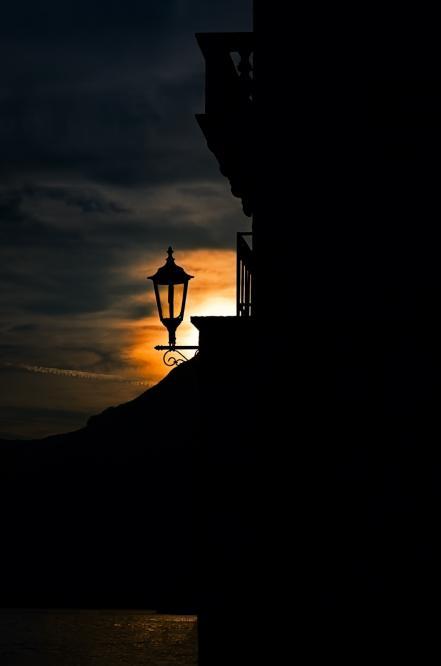 Perast sunset
