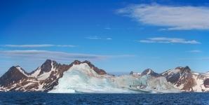 Iceberg e montagne