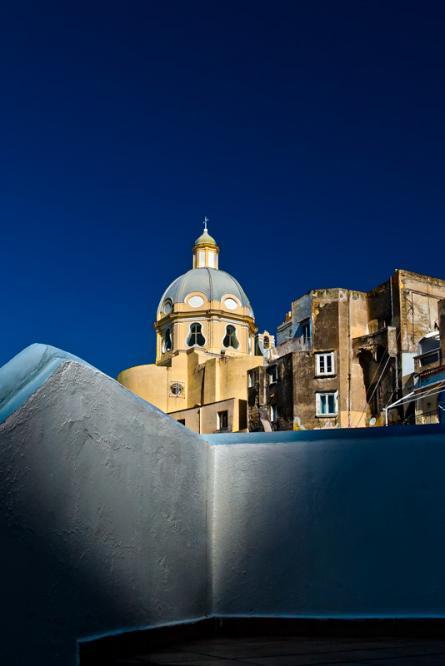 L' alba su Santa Maria delle Grazie