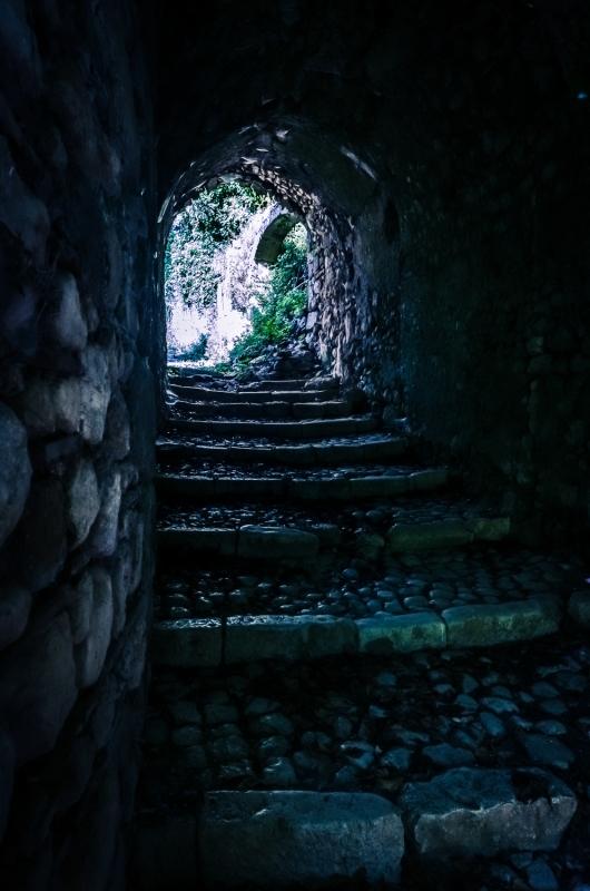 The tavern's access
