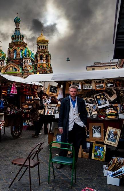 The art vendor