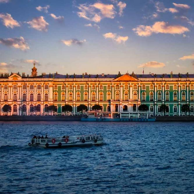 Winter Palace sunset
