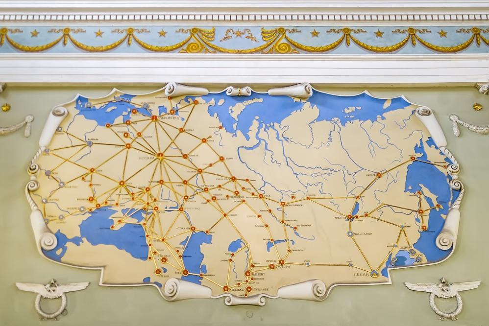 The map - Pulkovo 2