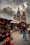 Stormy market