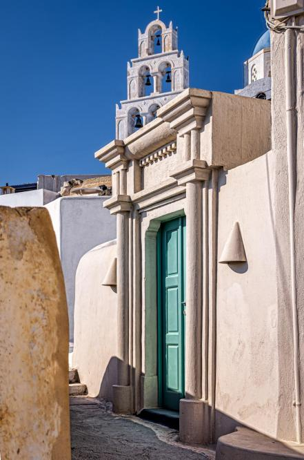 Alley of Pyrgos