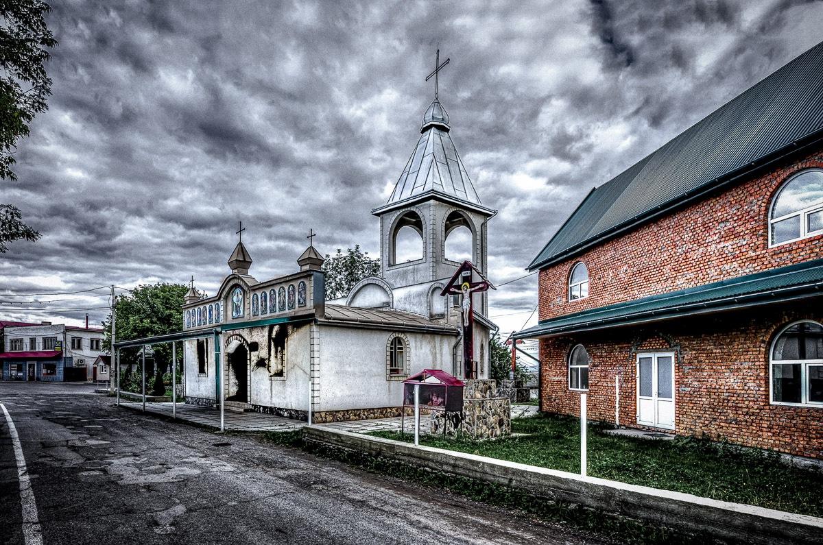 A church in Soltvyno