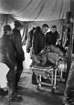 Lioni - Ospedale da campo - Un estratto vivo