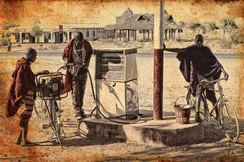 Maasai refuelling