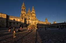 Long shadows, Santiatgo de Compostela, Spain