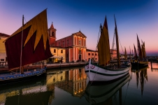 Falling asleep - The floating section of Cesenatico Maritime Museum - II