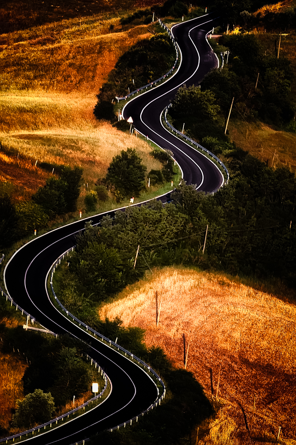 Bends, Toscana, Italy