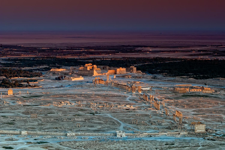 Almost like a diorama, Tadmor, Palmyra, Syria