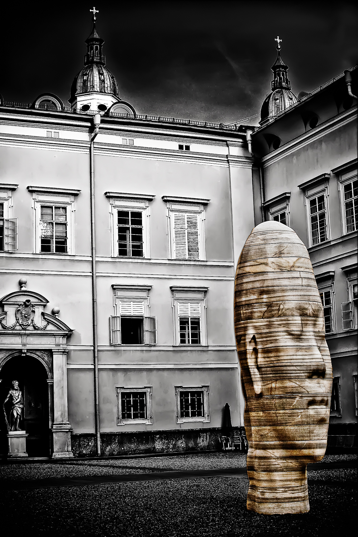 Modern Sphynx, Salzburg, Austria