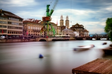 Zurich, a long exposure