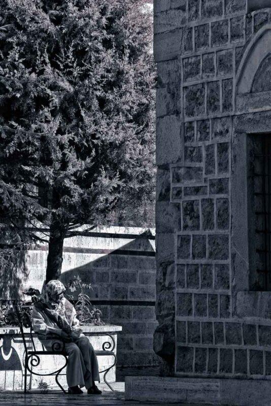 Esterno di una moschea a Safranbolu