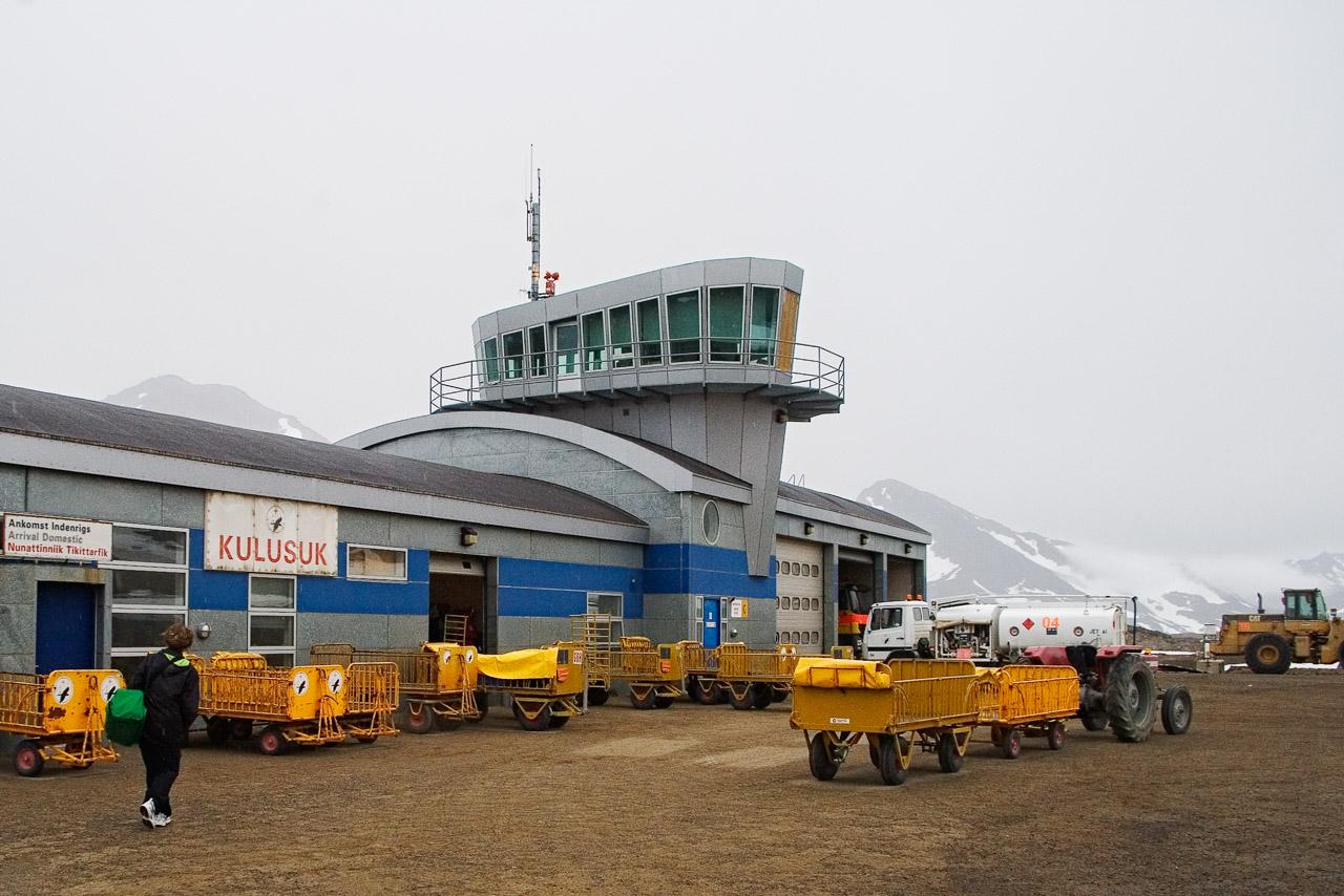 Aeroporto di Kulusuk, Groenlandia Orientale