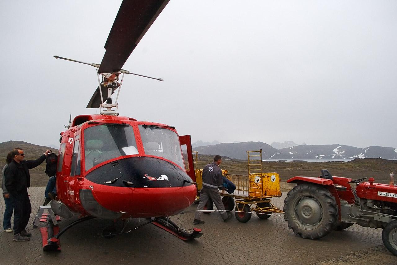In partenza per Tasiilaq, Groenlandia Orientale