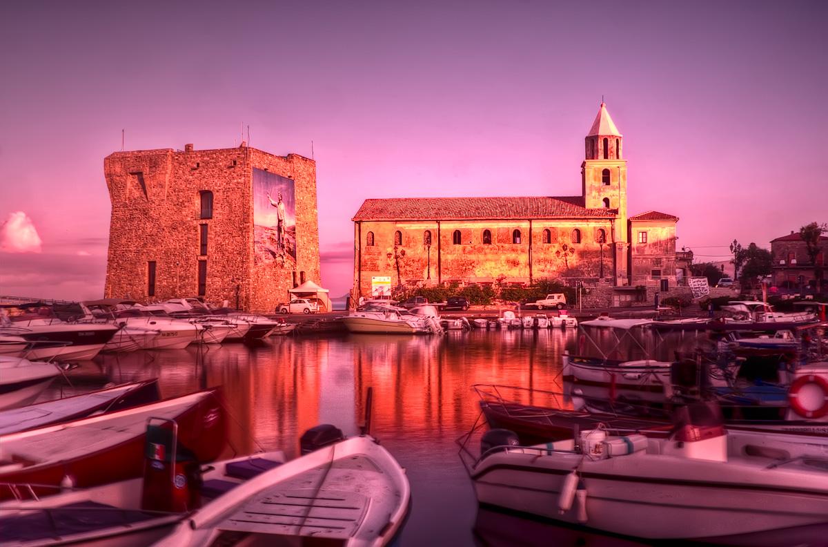 Harbour sunrise - Acciaroli
