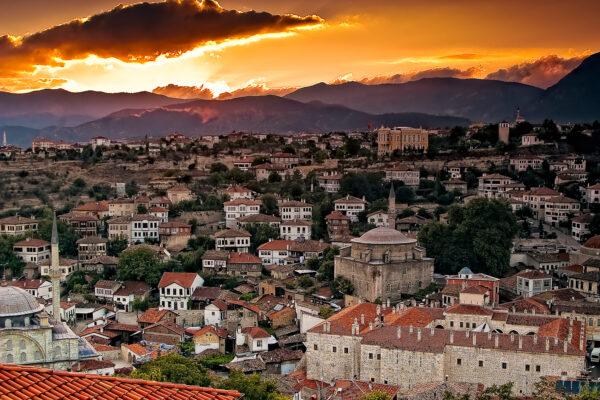 Safranbolu at sunset
