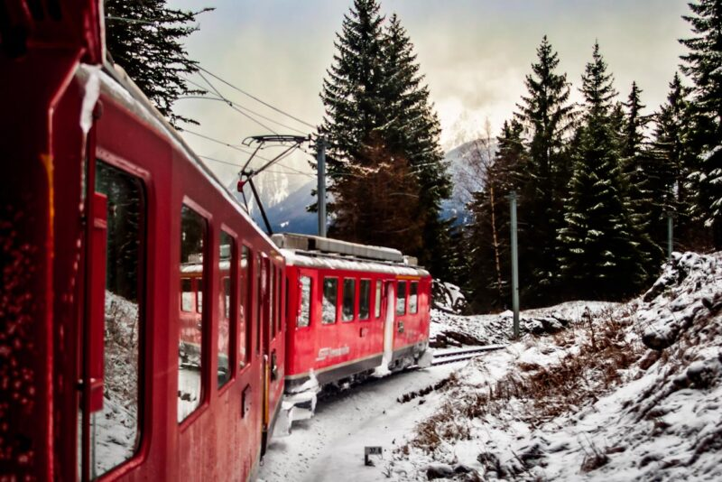 Bernina Express - Down to the valley