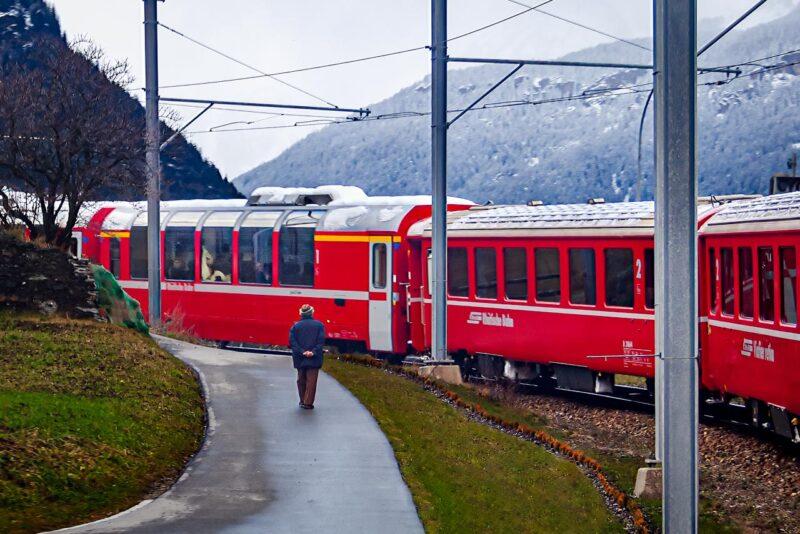 Bernina Express - Walk with me