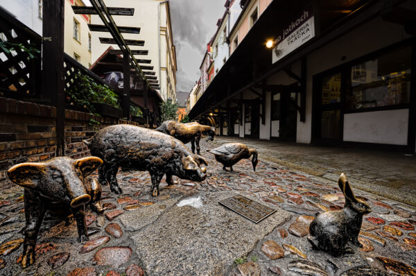 Stare Jatki - Monument to slaughtered animals