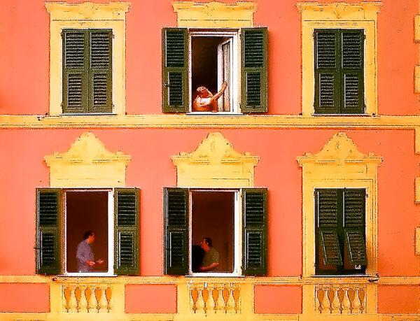 Camogli gem of Liguria - Like a theater set, isn't it?