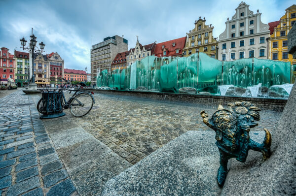 Well wishers is one of the most popular dwarfs in Wroclaw
