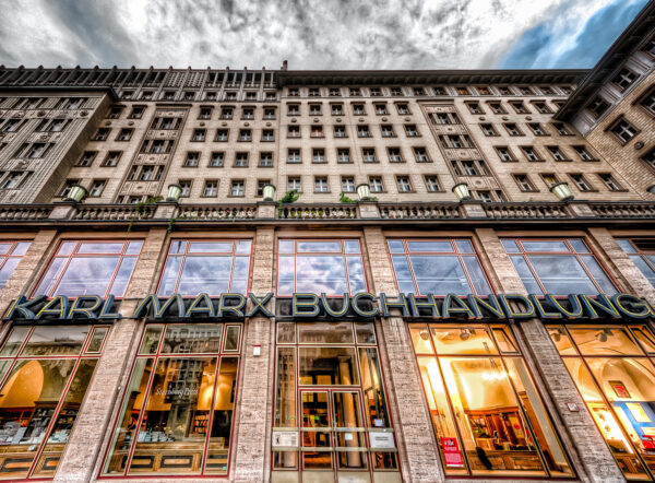 La libreria Karl Marx a Berlino -Karl Marx Buchhandlung
